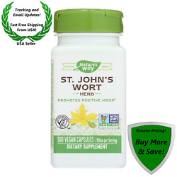 Nature's Way - St John's Wort Herb Promotes Positive Mood- 700 Mg - 100 Capsules
