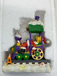 The Simpsons Christmas Train Express Collection Asleep At The Wheel - Nrfb