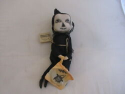 Joe Spencer Gathered Traditions Doll - Archie Skeleton - Handmade - 14 Tall New