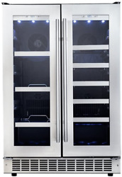 Danby Dbc047d3bsspr Silhouette Professional 24 French Door Beverage Center In S