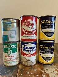 Vintage 1lb. Grease Can Collection