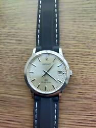 Seiko Grand Seiko Date Stainless Steel Used Quartz Mens Watch Authentic Working