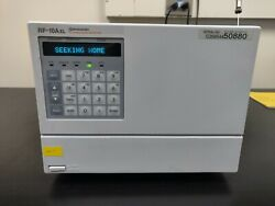 Shimadzu Rf-10axl Fluorescence Detector Fld Fully Tested Free Shipping