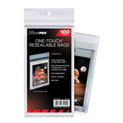 100 Count Pack-ultra Pro One Touch Resealable Bags For One Touch Holders