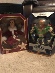 Christmas Toy Story Woody And Buzz Light Year Holiday Hero