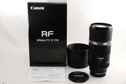 Canon Canon Rf 600mm F11 Stm Miraculous New Product With Original Box