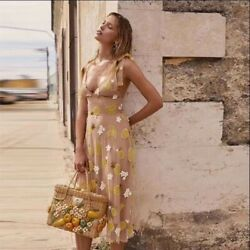 Nwt For Love Andlemons Fruit Punch Sequin Midi Dress Sz M And L Retail 325