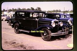 Antique Cars At Jacksonville, Illinois In 1966, Original Slide Aa 8-2a
