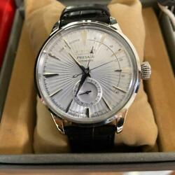 Seiko Presage Date Used Power Reserve Automatic Mens Watch Authentic Working