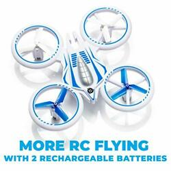 Mini Drone For Kids Remote Control Rc Quadcopter Led 4-channel 2 Speeds Force1