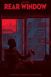 Rear Window By Kevin Tong - Regular - Rare Sold Out Mondo Print