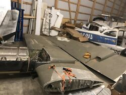 Cessna 310 A U-3a Wings Right And Left Wing Set