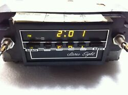 New Nos Vintage 70's-80's Delco Gm Stereo Eight 8 Track Radio Gm 2700-f 16005590