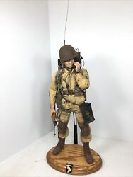 1/6 Dragon Us 101st Airborne Radio Operator Paratrooper D Day Normandy Ww2 Did