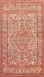 Floral Traditional Oriental Vegetable Dye Area Rug Wool Hand-knotted 7x11 Carpet