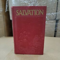 Salvation By J F Rutherford God's Provision For Man's Protection Hardcover Rare