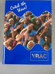 1987 Cary Nc North Carolina High School Yearbook Vol 40 Writing And Water Damage