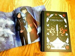 Faecrate Firefrost Camille Longley Signed Bookplate Red Gilded Edges Fairyloot