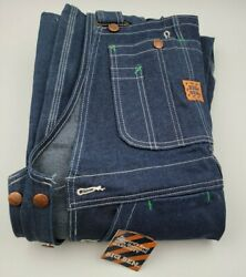 Vintage Wrangler Overalls Big Ben Mens 30 X 34 Rare New With Tags