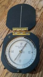 Keuffel And Esser Forestry Compass Model 5600 Vintage Antique 1930s 30s Rare