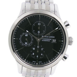 Wristwatch Maurice Lacroix Les Classics Lc6058-ss002-330 Men's Used Silver