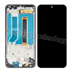 For Lg Reflect Tracfone L555dl Lcd Touch Screen Digitizer Assembly +frame Et.