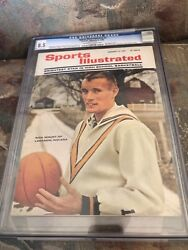 Sports Illustrated Cgc 8.5 1966 Rick Mount Highest Graded
