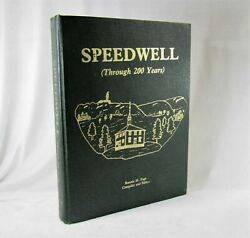 Speedwell Through 200 Years Hc Local History Book, Tennessee 1985, Genealogy