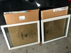 Andersen Tw2842 Upr Lwr Upper And Lower Sash White Exterior And White Interior