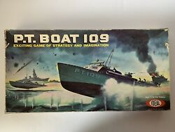 P.t. Boat 109 Board Game By Ideal Toy Corp. 1963-complete