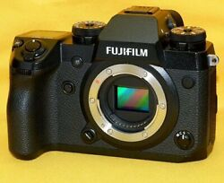 Fujifilm X-h1 Genuine Lens And 32gb With Inspection And Sensor Cleaned Body And Lens And
