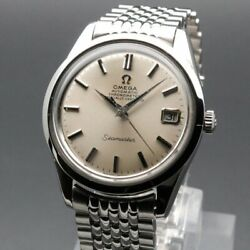 Omega Seamaster Chronometer Vintage Cal.564 Overhaul Date Automatic Mens Watch