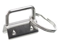 1000 Sets - 1 Key Fob Hardware Set + Key Rings - For 1 Inch Lanyards Key Chains