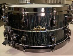 Tama Collectible Snare Drum With Case. Starclassic 14 X 6.5. 1 Of 40 In Usa.