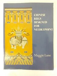 Chinese Rugs Designed For Needlepoint By Lane Maggie Needlepoint Patterns
