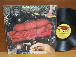 Lp Frank Zappa And The Mothers Of Invention / One Size Fits All / 1975 1st Issue