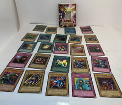 Yugioh Starter Deck Yugi Unlimited Edition Yu-gi-oh 1996 Opened 19 Cards Rare