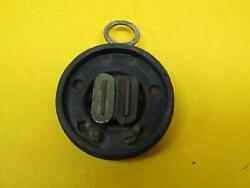 Wwi Solid Hand Held Headphone W/hang Ring Patented Circa 1900 Couch Trade Mark
