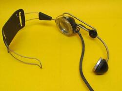 Vintage Telephone Switch Board Operator Headset--headphones And Mouth Piece.