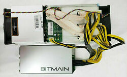 Bitmain Antminer S9 13.5 Th/s With Apw3++ Psu Briefly Used At Home
