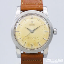 Omega Seamaster Ref.2767-1sc Vintage Cal.354 Ss Half Rotor Automatic Mens Watch