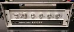 Vintage 1970 Crown Ic 150a Control Amplifier Prian 120v Specification Rare