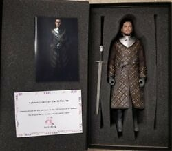 Iminime Game Of The Thrones Movie Jon Snow 16 Scale Figure Collectors Edition