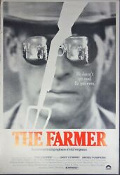 1977 The Farmer Movie Xl Film Poster 40x60 Columbia Pictures Conway Dante
