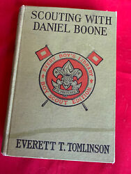 Every Boys Library - Scouting With Daniel Boone - Tomlinson