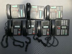 Nortel Network Norstar Phones System Set Of 7 Itand039s Perfectly Working