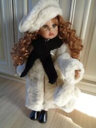 Collectible Heirloom Quality Coat Ensemble From Fabulous Furs Fits 18-20 Dolls
