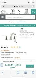 Rohl Lombardia Polished Nickel C-spout Bathroom Faucet A1208lmpn-2