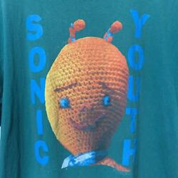 Vintage 1990 Sonic Youth Masterpiece Dirty Jacket Print Tee Shirt Mens Xl Size
