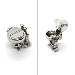 Vtg Dated Christmas '59 Sterling 3d Mechanical Moving Toilet Charm Crazy Detail